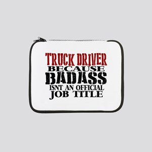 "Badass Trucker 13"" Laptop Sleeve"
