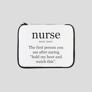 "nurse definition 13"" Laptop Sleeve"