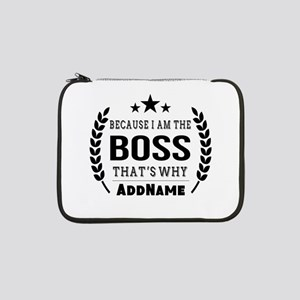 "Gifts for Boss Personalized 13"" Laptop Sleeve"