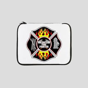 "Volunteer Firefighter 13"" Laptop Sleeve"