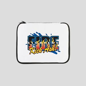 "Firefighters Kick Ash! 13"" Laptop Sleeve"