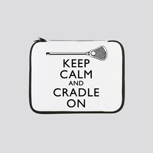 Keep Calm And Cradle On 13&Quot; Laptop Sleeve