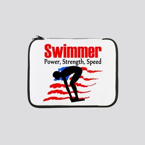 "LOVE TO SWIM 13"" Laptop Sleeve"