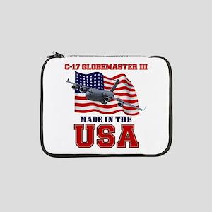 """C-17 Globemaster III 13"""" Laptop Sleeve"""