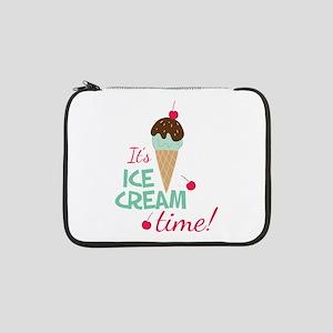 "Ice Cream Time 13"" Laptop Sleeve"
