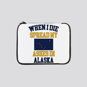"""When I Die Spread My Ashes in Al 13"""" Laptop Sleeve"""