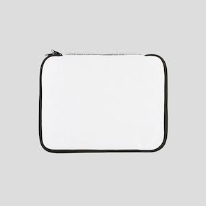"""Cat yin yang T-shirt 13"""" Laptop Sleeve"""