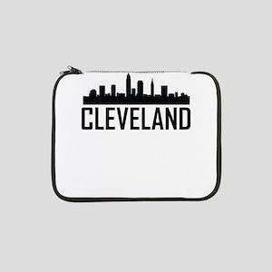 "Skyline of Cleveland OH 13"" Laptop Sleeve"