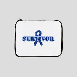 "Blue Ribbon Survivor 13"" Laptop Sleeve"