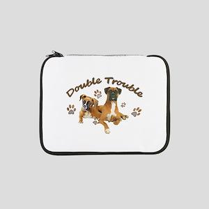 "Boxer Double Trouble 13"" Laptop Sleeve"