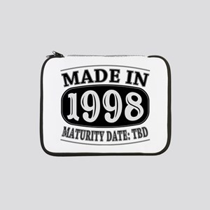 "Made in 1998 - Maturity Date TDB 13"" Laptop Sleeve"