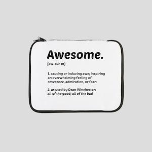 "Supernatural: Vital information- Awesome 13"" Lapto"