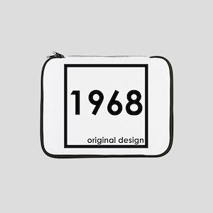 "1968 birthday original design ye 13"" Laptop Sleeve"