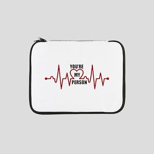 "Grey's Anatomy My Person 13"" Laptop Sleeve"