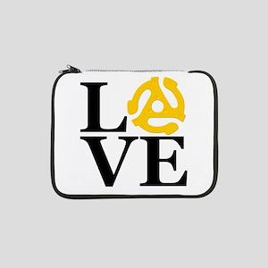 "LOVE Vinyl 13"" Laptop Sleeve"