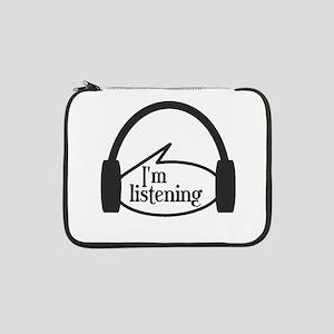 """Frasier Im Listening 13"""" Laptop Sleeve"""