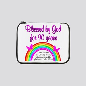"PRECIOUS 90TH 13"" Laptop Sleeve"