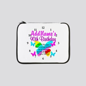 "BLESSED 90TH 13"" Laptop Sleeve"