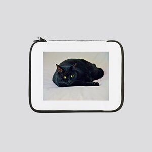 "Black Cat! 13"" Laptop Sleeve"