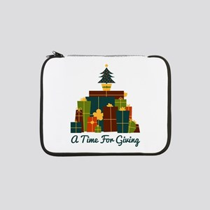 """A Time For Giving 13"""" Laptop Sleeve"""
