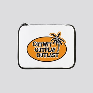 """Survivor: Outwit Outplay Outlast 13"""" Laptop Sleeve"""