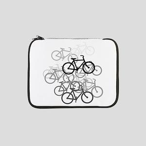 "Bicycles 13"" Laptop Sleeve"