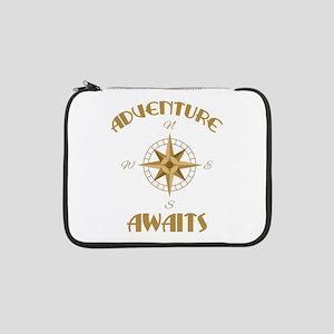 "Adventure Awaits 13"" Laptop Sleeve"