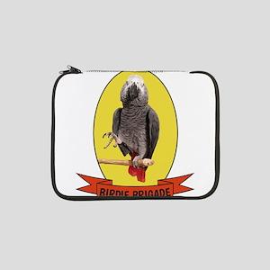 """Birdie Brigade Congo African Gre 13"""" Laptop Sleeve"""