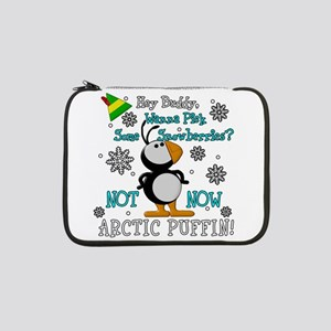 "Elf Movie Not Now Arctic Puffin! 13"" Laptop Sleeve"