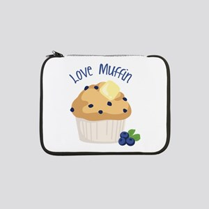 "Love Muffin 13"" Laptop Sleeve"