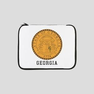 "Georgia Seal 13"" Laptop Sleeve"