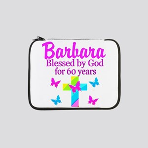 "DELIGHTFUL 60TH 13"" Laptop Sleeve"