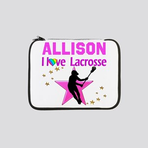 "LACROSSE PLAYER 13"" Laptop Sleeve"