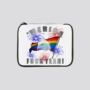 "'Merica, Fuck Yeah! 13"" Laptop Sleeve"