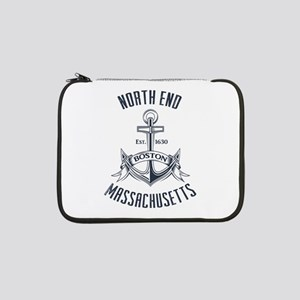 "North End, Boston MA 13"" Laptop Sleeve"