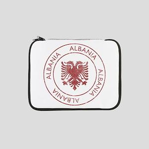 """Vintage Albania 13"""" Laptop Sleeve"""
