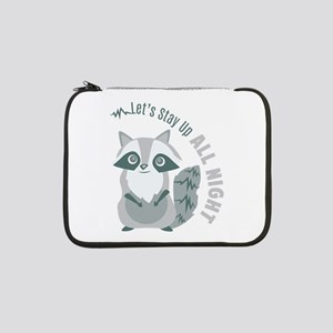 "Up All Night 13"" Laptop Sleeve"