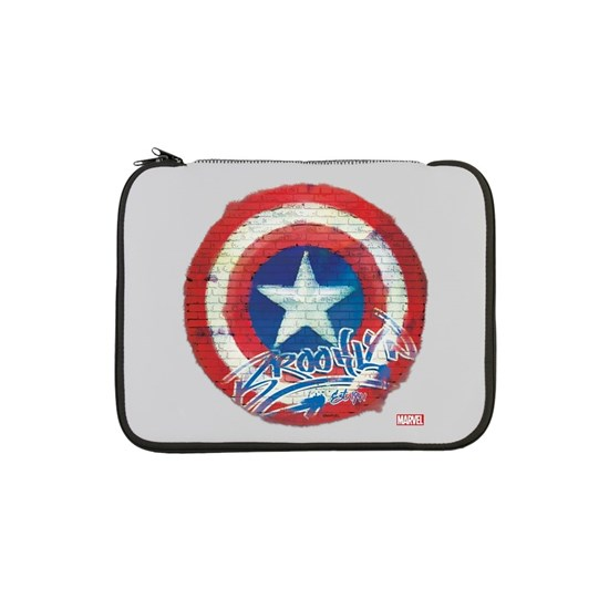 Captain America Graffiti Shield Full Bleed