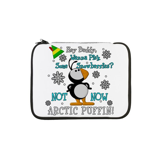 Elf Movie Not Now Arctic Puffin! 13 Laptop Sleeve