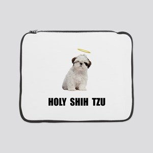 "Holy Shih Tzu 15"" Laptop Sleeve"