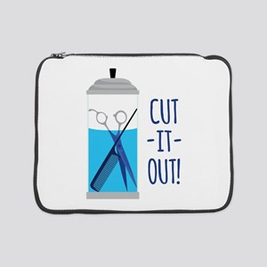"Cut-It-Out 15"" Laptop Sleeve"