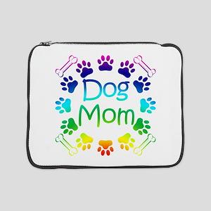 """""""Dog Mom"""" 15"""" Laptop Sleeve"""