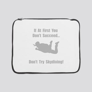 """Skydive Succeed Silver 15"""" Laptop Sleeve"""