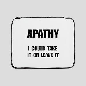 "Apathy 15"" Laptop Sleeve"
