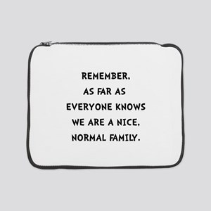 """Normal Family 15"""" Laptop Sleeve"""