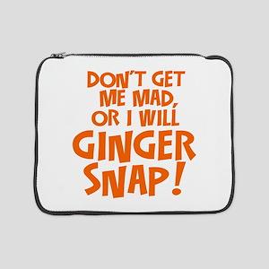"Ginger Snap 15"" Laptop Sleeve"