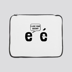 """Love Accent 15"""" Laptop Sleeve"""