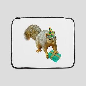 "Birthday Squirrel 15"" Laptop Sleeve"