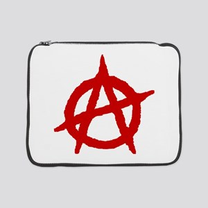 """Anarchist 1 (red) 15"""" Laptop Sleeve"""