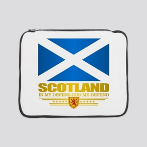 "Flag of Scotland 15"" Laptop Sleeve"
